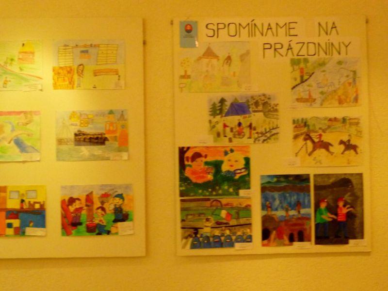 Ocenené výtvarné práce žiakov z Partizánskeho-1
